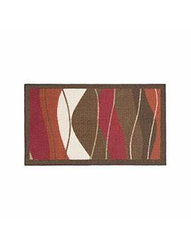 Modern Living Waves Decorative Area Accent Rug, 18 By 30 Inch by Modern Living