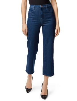 Joan High Waist Crop Flare Jeans by J Brand