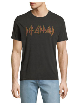 Men's Def Leppard Band Graphic T Shirt by John Varvatos Star Usa