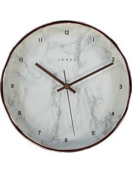 Copper Tone Penny Studio Clock 29x29cm by Jones