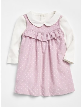 Cord Dress Bodysuit Set by Gap