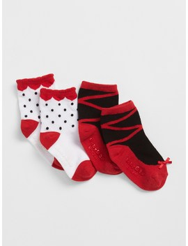Ballet Slipper Socks (2 Pack) by Gap