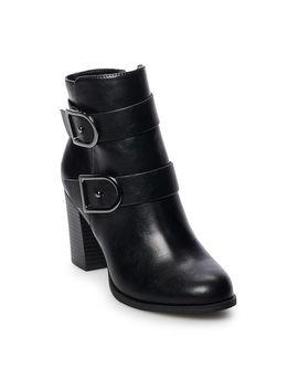 Apt. 9® Week Women's High Heel Ankle Boots by Apt. 9