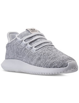 Men's Tubular Shadow 3 D Knit Casual Sneakers From Finish Line by Adidas