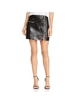[Blanknyc]]]]]]]]]]]]]]]] Blank Nyc Womens Metallic Patent Leather Mini Skirt by %5 Bblanknyc%5 D