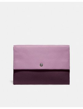 Envelope Pouch In Colorblock by Coach