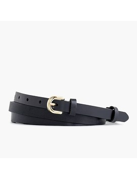 Italian Leather Double Wrap Belt by J.Crew