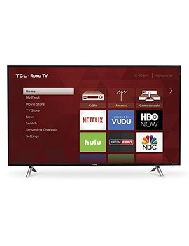 Tcl 43 S305 43 Inch 1080p Roku Smart Led Tv (2017 Model) by Tcl