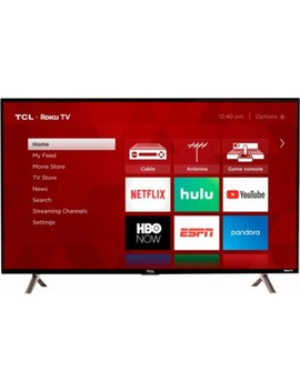 "43"" Class (43"" Diag.)   Led   1080p   Smart   Hdtv Roku Tv by Tcl"