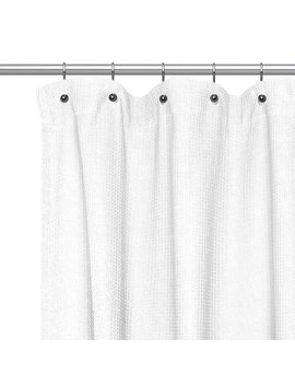 Sweet Home Collection Waffle Weave Cotton Shower Curtain & Reviews by Sweet Home Collection