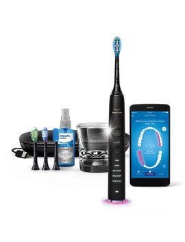 Philips Hx9924/14 Diamond Clean Smart Sonic Electric Toothbrush With App, Black by Philips