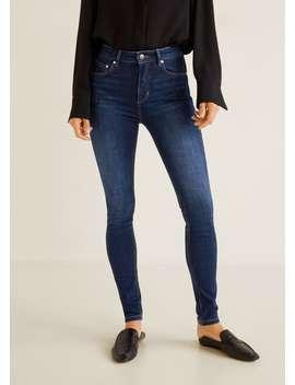 High Waist Skinny Jeans by Mango
