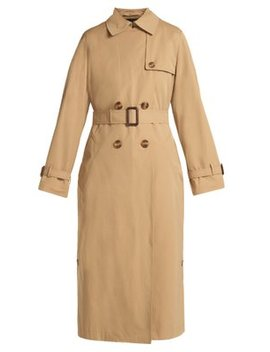 Belted Double Breasted Trench Coat by Weekend Max Mara