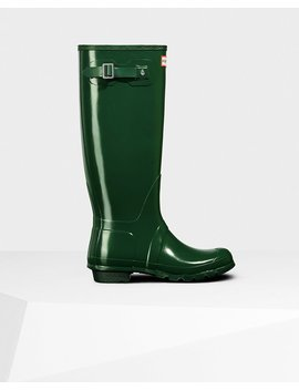 "<Span Itemprop=""Name"">Women's Original Tall Gloss Rain Boots</Span>:                     <Span>Hunter Green</Span> by Hunter"