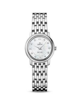Omega De Ville Prestige Diamond Ladies Watch by Beaverbrooks