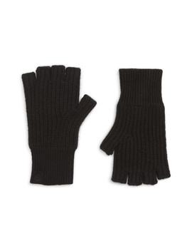 Ace Rib Knit Cashmere Fingerless Gloves by Rag & Bone