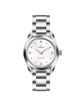 Omega Seamaster Aqua Terra Diamond Ladies Watch by Beaverbrooks