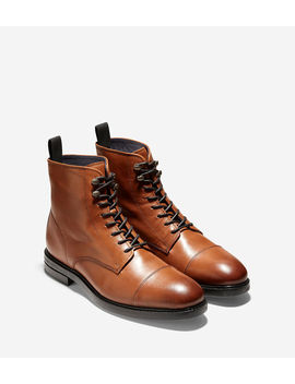 Wagner Grand Waterproof Cap Toe Boot by Cole Haan