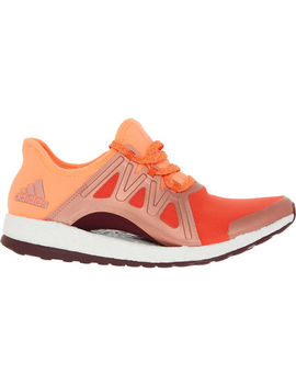 Orange Branded Running Shoes by Adidas