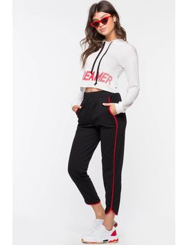 Remmy Contrast Jogger Pant by A'gaci