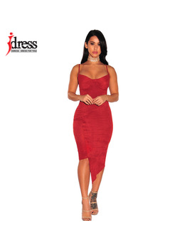 I Dress Latex Women Clothing Asymmetry Suede Sundress Sexy Night Club Women Vestidos Knee Length Summer Bodycon Party Dresses by Hambelela