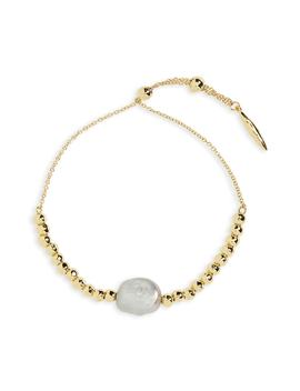 Vienna Pearl Adjustable Bracelet by Gorjana
