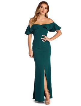 Lauren Off The Shoulder Formal Dress by Windsor
