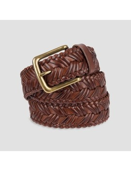 Men's 35mm Braid With Center Strand Belt   Goodfellow & Co™ by Goodfellow & Co™