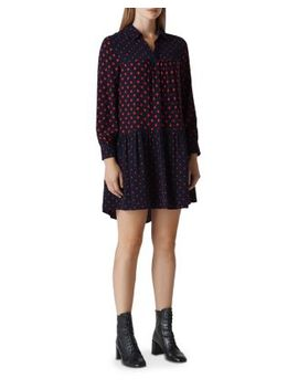 Molly Spot Mix Dress by Whistles