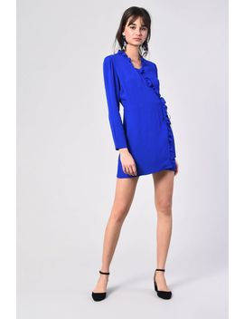 **Wrap Dress By Glamorous Tall by Topshop