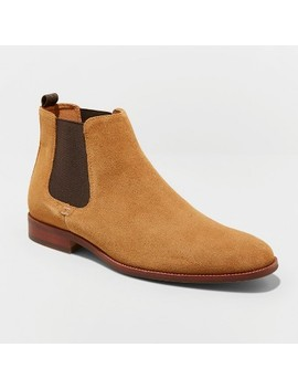 Men's Paxton Suede Chelsea Boots   Goodfellow & Co™ Tan by Goodfellow & Co™