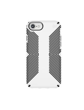 Speck Apple I Phone 8/7/6s/6 Presidio Grip Case   White/Black by Speck