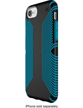 Presidio Grip Case For Apple® I Phone® 6, 6s, 7 And 8   Black/Blue by Speck