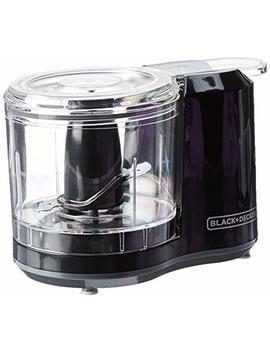 Black+Decker 1.5 Cup Electric Food Chopper, Improved Assembly, Black, Hc150 B by Black+Decker