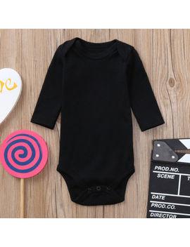 Newborn Toddler Infant Baby Girl Boys Long Sleeve Bodysuit Romper Jumpsuit Vs by Unbranded