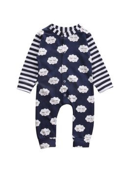 Newborn Infant Baby Boy Girl Cotton Romper Jumpsuit Warm Bodysuit Clothes Outfit by Unbranded