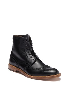 Leather Wingtip Boot by Antonio Maurizi