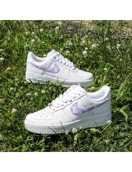 New Women's Nike Air Force 1 Louis Vuitton Monogram Sneakers by Etsy