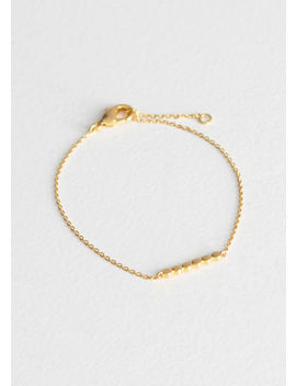 Six Dot Charm Bracelet by & Other Stories