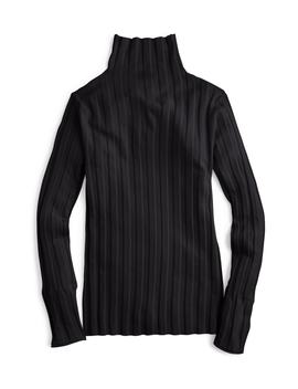 365 Stretch Ribbed Turtleneck Sweater by J.Crew