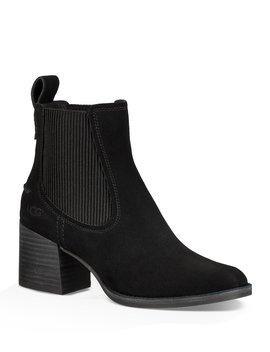 Ugg® Faye Suede Block Heel Booties by Ugg