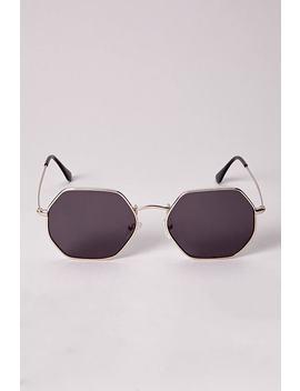 Melt Geometric Frame Sunglasses by Forever 21