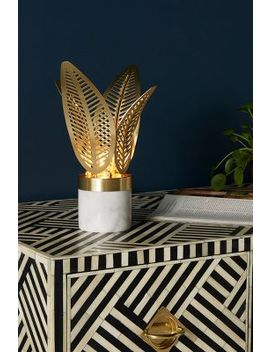 Palm Frond Table Lamp by Anthropologie