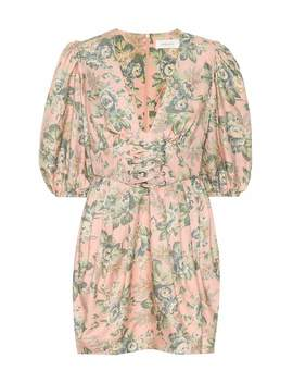 Tempest Floral Silk Dress by Zimmermann