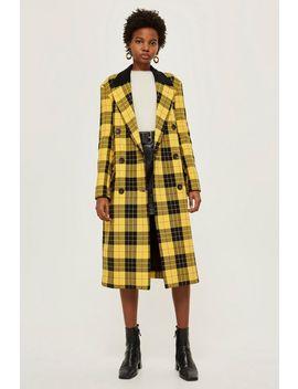 Tartan Coat by Topshop