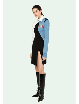 One Shoulder College Dress by Off White