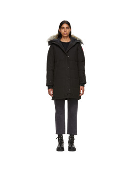 Black Shelburne Parka by Canada Goose