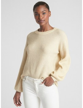 Blouson Sleeve Pullover Sweater by Gap