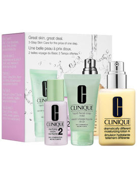 Clinique Great Skin, Great Deal Set For Dry Combination Skin by Clinique