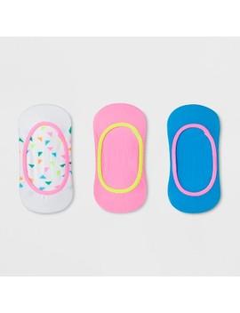 Girls' 3pk Liner Socks   Cat & Jack™ by Cat & Jack™